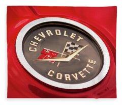 Corvette Fleece Blanket