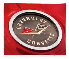 Corvette Fleece Blanket