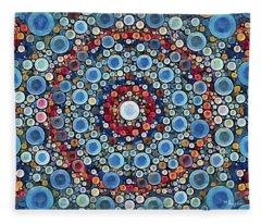 Cosmic Drift Fleece Blanket