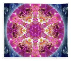 Cosmic Love Fleece Blanket