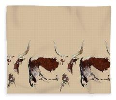 Cosmopolitan Watusi Fleece Blanket