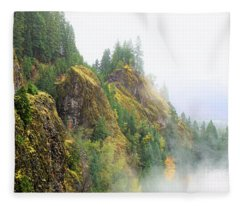 Cougar Reservoir Area Fleece Blanket