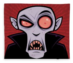 Vector Illustration Fleece Blankets