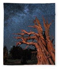 Countless Starry Nights Fleece Blanket