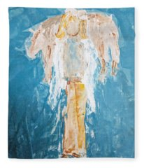 Country Angel Fleece Blanket