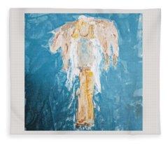Country Angel Fleece Blanket