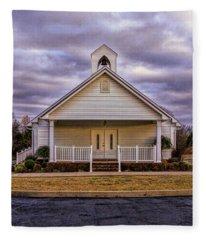 Country Church Fleece Blanket