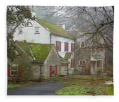 Country House Fleece Blanket