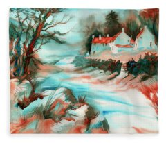 Country Road Fleece Blanket