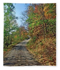 Country Roads Fleece Blanket