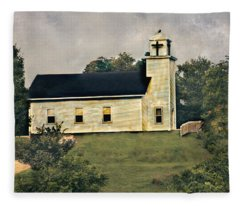 County Chruch Fleece Blanket