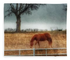 County Road 4100 Fleece Blanket