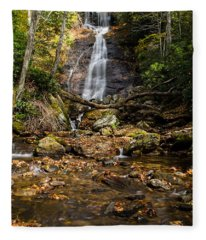 Courthouse Falls Fleece Blanket