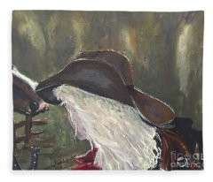 Cowgirl Fleece Blanket