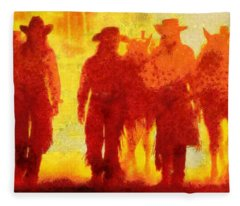 Cowpeople Fleece Blanket