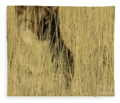 Coyote 3 Fleece Blanket