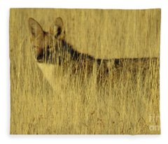 Coyote 4 Fleece Blanket