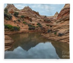 Coyote Buttes Morning Fleece Blanket