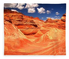 Coyote Buttes North Landscape Fleece Blanket