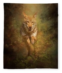 Coyote Energy Fleece Blanket