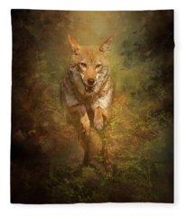 Coyote Energy Fleece Blanket