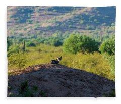Coyote Hill Fleece Blanket