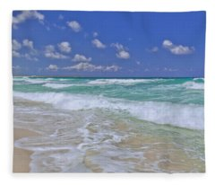 Cozumel Paradise Fleece Blanket