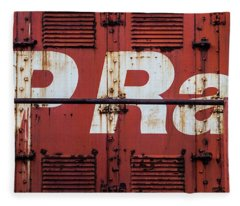 Cp Rail Fleece Blanket