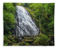 Crabtree Falls Fleece Blanket