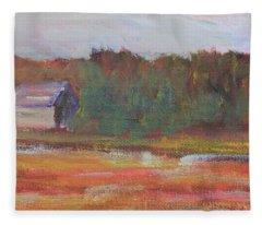 Cranberry Cove Fleece Blanket