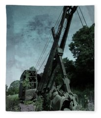 Crane Fleece Blanket