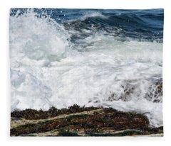 Crashing Surf Fleece Blanket