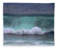 Crashing Wave Fleece Blanket