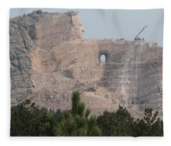 Crazy Horse Fleece Blanket