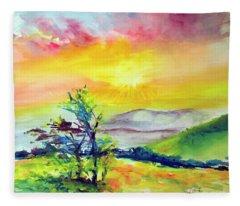 Creation Sings Fleece Blanket
