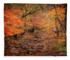 Creek Bottom Color Fleece Blanket