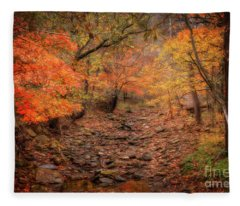Creek Bottom Color Fleece Blanket