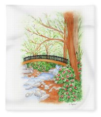 Creek Crossing Fleece Blanket