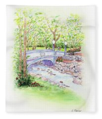 Creekside Fleece Blanket
