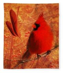 Crimson Splash 2015 Fleece Blanket