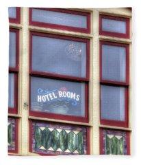 Cripple Creek Hotel Rooms 7880 Fleece Blanket