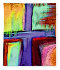Cross Of Hope Fleece Blanket