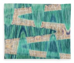 Crossing Waves Fleece Blanket
