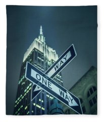 Crossroads Fleece Blanket