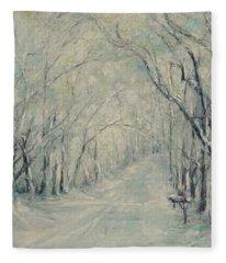 Crossroads From The Dee Street Series Fleece Blanket