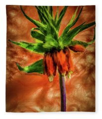 Crown-imperial #h1 Fleece Blanket
