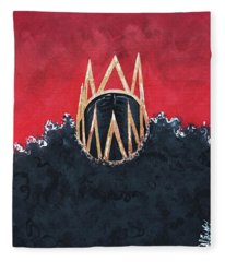 Crowned Royal Fleece Blanket
