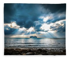 Cruise In Paradise Fleece Blanket