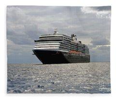 Cruise Sip On The Open Sea Fleece Blanket