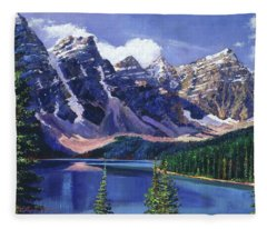 Crystal Blue Waters Fleece Blanket
